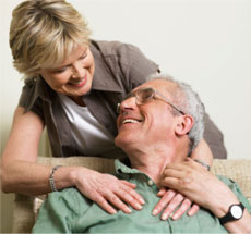 Success Stories - Happy senior couple in love